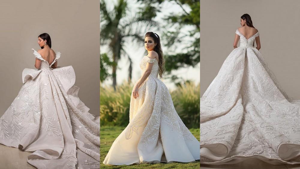 صور فساتين زفاف ملكية , ازياء ملكية لفستان الزفاف