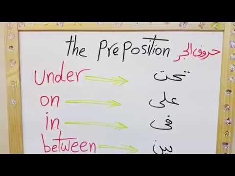 صور ما هي حروف الجر الانجليزية , شرح مبسط لبعض حروف الجر الخاصه باللغه الانجليزيه