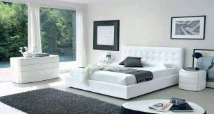 غرفة نوم ابيض , اناقة اللون الابيض في غرف النوم