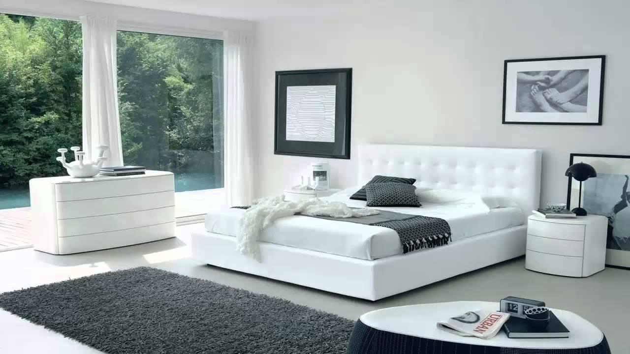 صورة غرفة نوم ابيض , اناقة اللون الابيض في غرف النوم