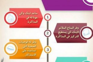 صور نصائح قبل الاختبارات , ماذا يجب عليك ان تفعله قبل بداية الامتحنات