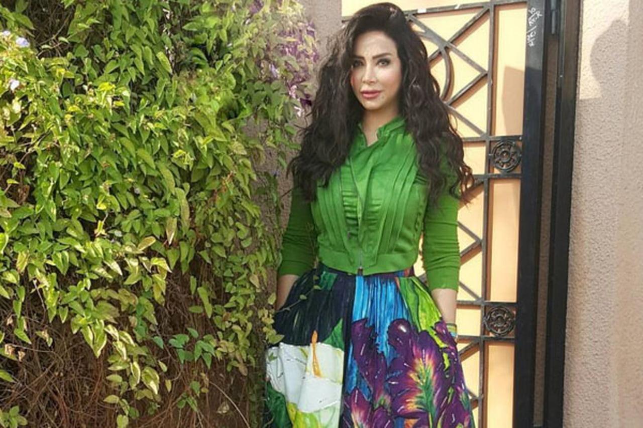 صورة ازياء لوجين عمران , افخم ملابس للنجمه لوجين عمران