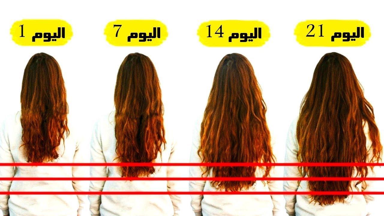 صورة معدل نمو الشعر , ما هو المعدل لشعر صحى
