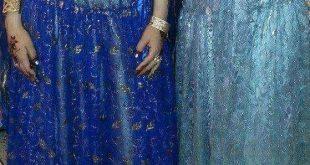 صور قنادر عراسي من الفيس بوك , ملابس للعرائس من خلال الفيس بوك