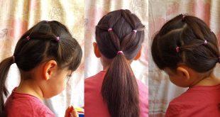 صور تسريحات شعر بسيطة للبنات الصغار , تسريحه مفضله وسهله للبنات