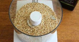 صور طريقة عمل الطحينة , اسهل طريقه لصنع الطحينه فى المنزل