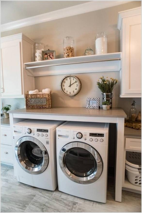 صورة غرف غسيل الملابس , تنظيم الغرف الخاصه بغسل الملابس