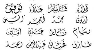 صورة اسماء اولاد ومعانيها , اسماء ولاد فى منتهى الجمال