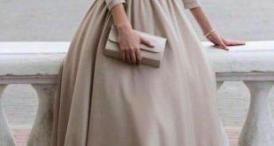 صور فساتين محجبات تفصيل , افضل انواع الفساتين للمحجبين