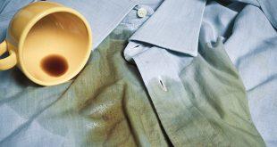 صور ازالة القهوة عن الملابس , انسب طريقه لازله بقع القهوه