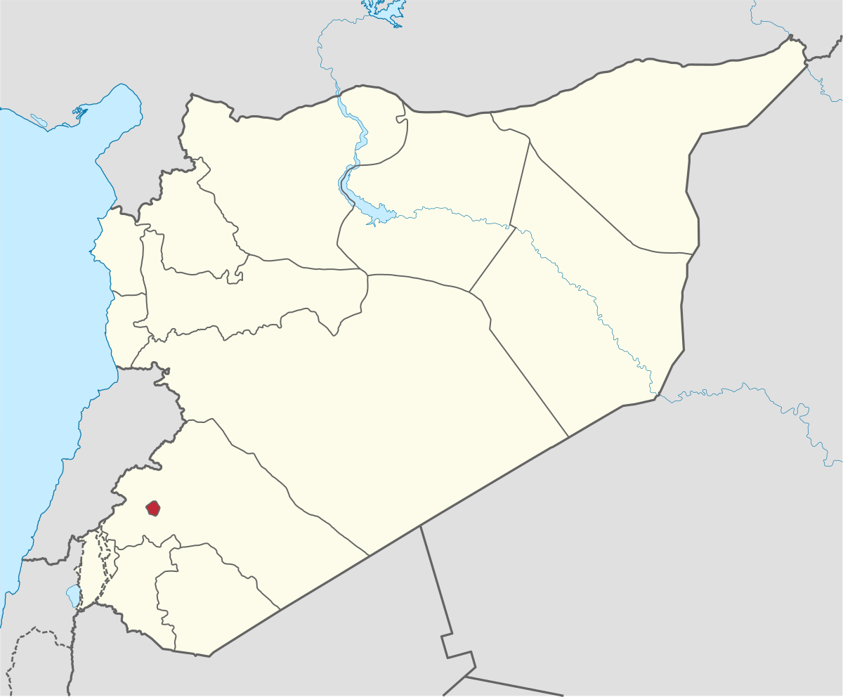 صور اين تقع دمشق , في اي مكان تكون متواجده دمشق