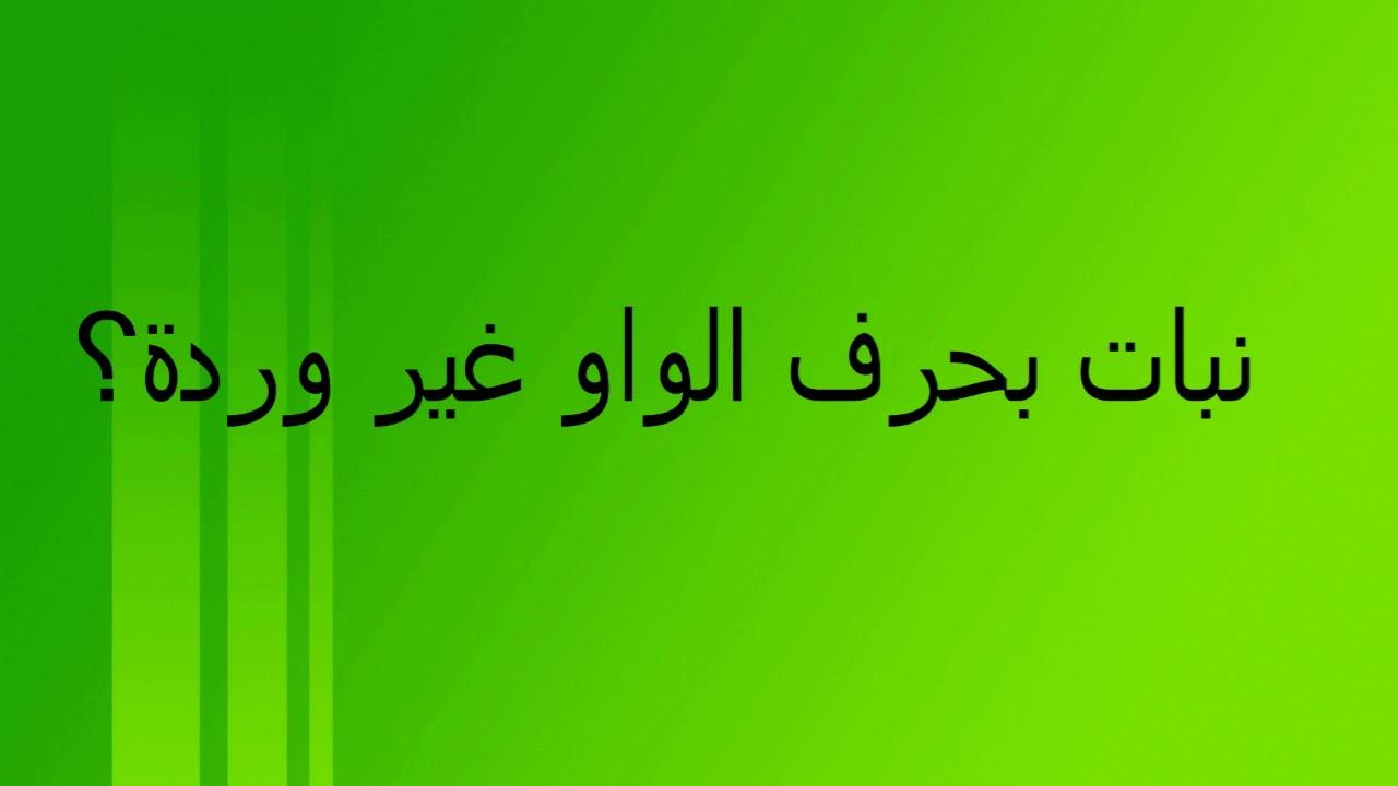 اسم ولد بحرف الواو