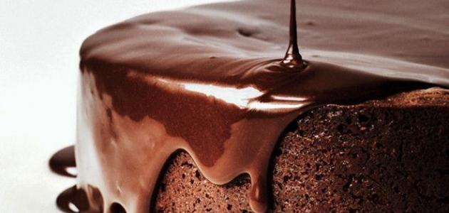 صور صوص شوكولاته للكيك سهل , اسهل واسرع صوص للكيكه