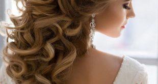 صور تسريحات الشعر بالفير , لكل عروسة اروع قصات شعر بالفير2019