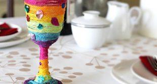 صورة تزيين كاسات العصير , اجمل و اسهل الافكار لتزيين الكاسات