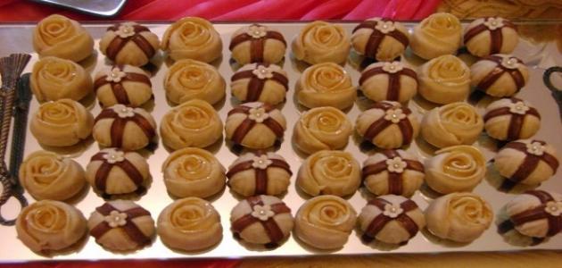 صورة حلويات شميشة بالصور والمقادير , الحلويات المغربية شميشة سهلة التحضير