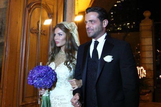 صورة صور زواج نيكول سابا , الجميلة نيكول سابا في ليلة زفافها