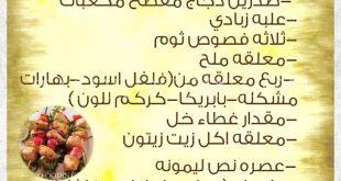 صورة عمل الشيش طاووق بالصور , طريقة سهلة لعمل الشيش طاووق