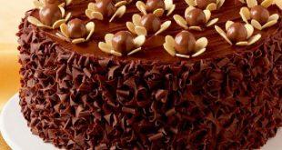 صور طريقة تزيين الكيك بالشوكولاته بالصور , تعلمي حرفة تزيين الكيك باحلى شكولاته
