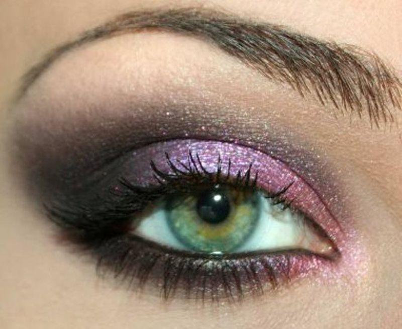 صورة مكياج عيون خليجي , احلى مكياج خليجي يظهر العيون