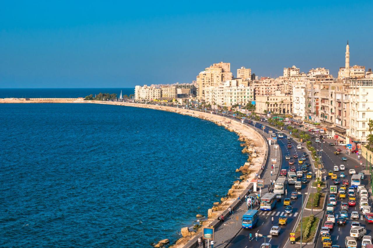 صورة اماكن الخروج في الاسكندرية , خريطة للفسحة في اسكندرية الساحرة