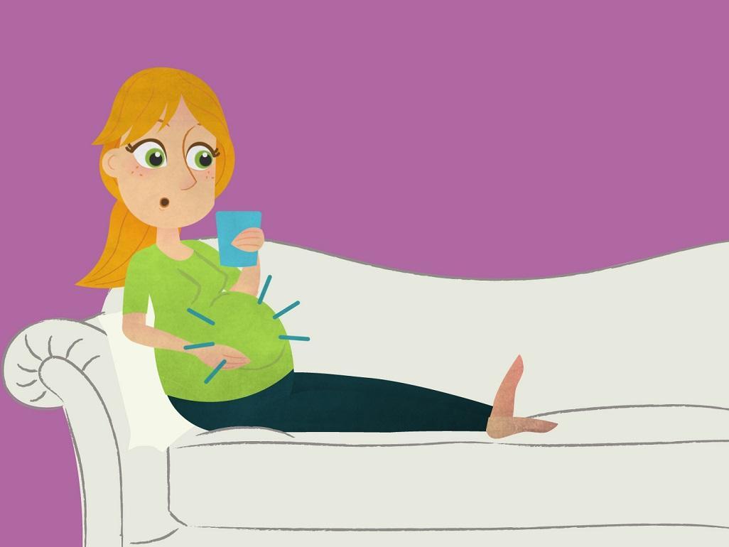 صورة هل الولاده في اول التاسع طبيعي , خوف الولاده في بدايه التاسع