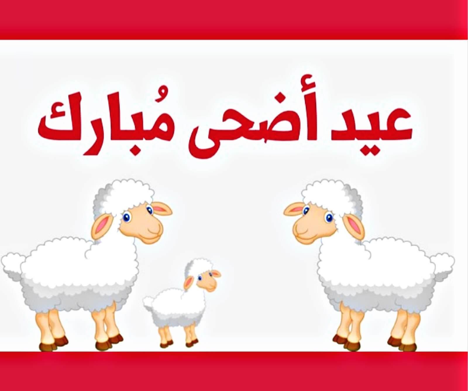 صورة رسائل تهنئة عيد الاضحى , رسائل العيد تفرح اهلينا unnamed file 82