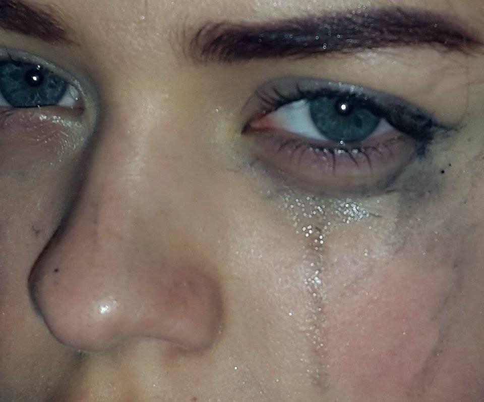 صورة عيون خضراء تبكي , صورة جذابة للعيون الجذابة