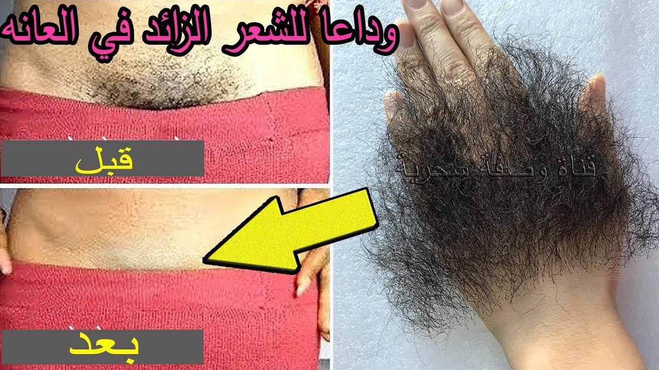صورة التخلص من شعر العانة , بسهولة وبدون الم وصفة مجربة ونتائج مذهلة