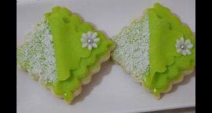 صورة حلويات بعجينة السكر , اطعم الحلوي وسهلة التحضير