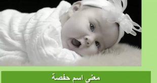 صورة معنى اسم حفصه , يهم كل ام واب