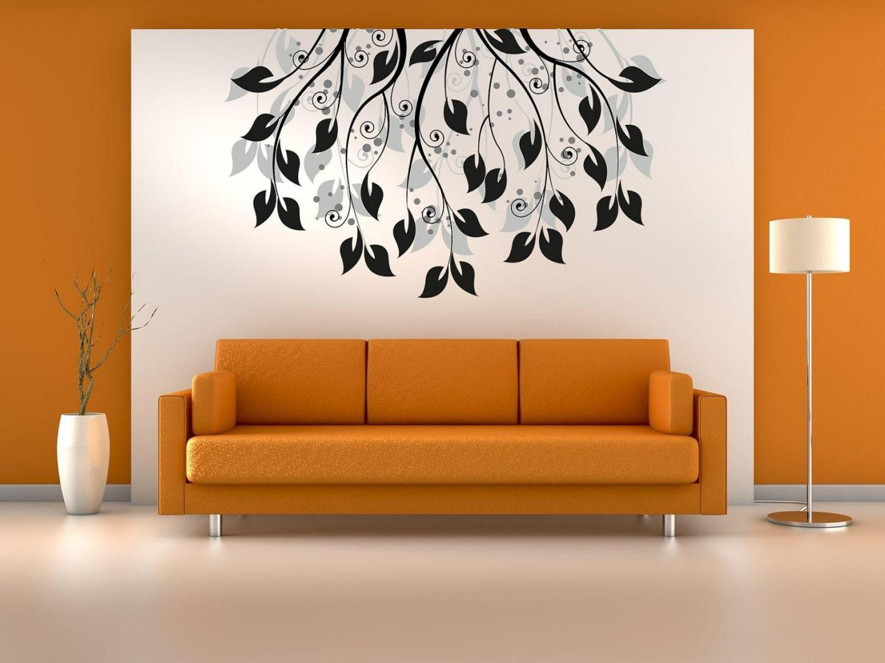 صورة رسومات على الحائط , ديكور ولا اروع من هيك