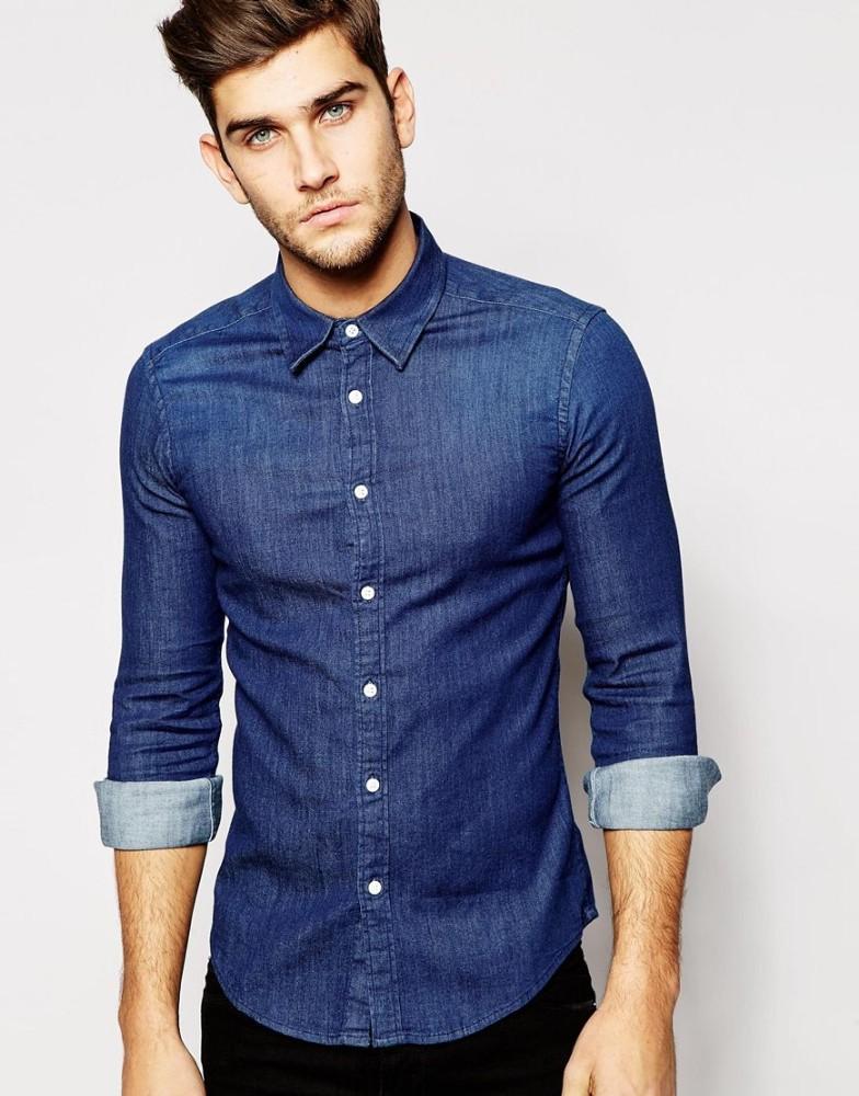 صورة قمصان جينز رجالى , اروع القمصان الرجالي التي سوف تدهشك