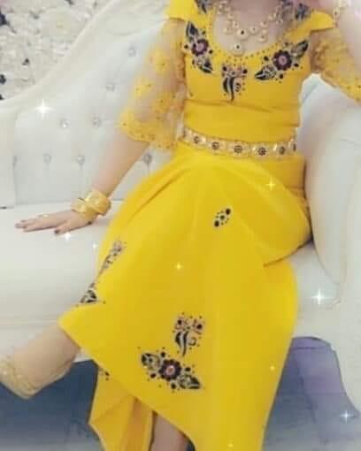 صورة ملابس العروس الجزائرية , كونى مميزه فى اجمل ايام حياتك