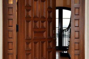 صورة ديكورات ابواب شقق , باب شقتك عنوان لداخلها