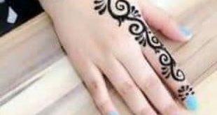 صورة نقش حناء للاصابع , اظهرى انوثتك وجمال يديكى بهذه النقشات