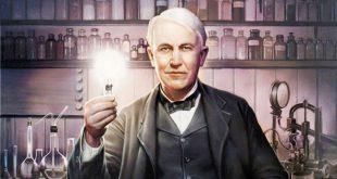 صورة من هو مخترع المصباح الكهربي , لم يكمل تعليمه وسمى بالفاسد