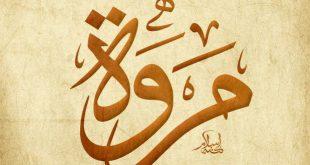 صورة تفسير اسم مروة في المنام , بشرى وخير باسم ذكر فى القران
