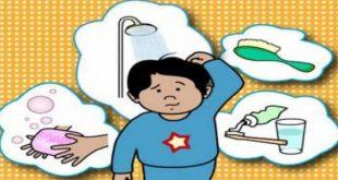 صورة ارشادات عن النظافة , اجمل شئ تعلمه للطفل فى الصغر