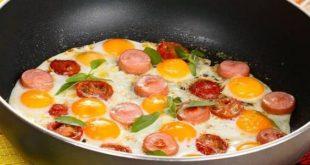 صورة طريقة عمل البيض بالبسطرمة , سهله سريعه لذيذه تمدك بالطاقه