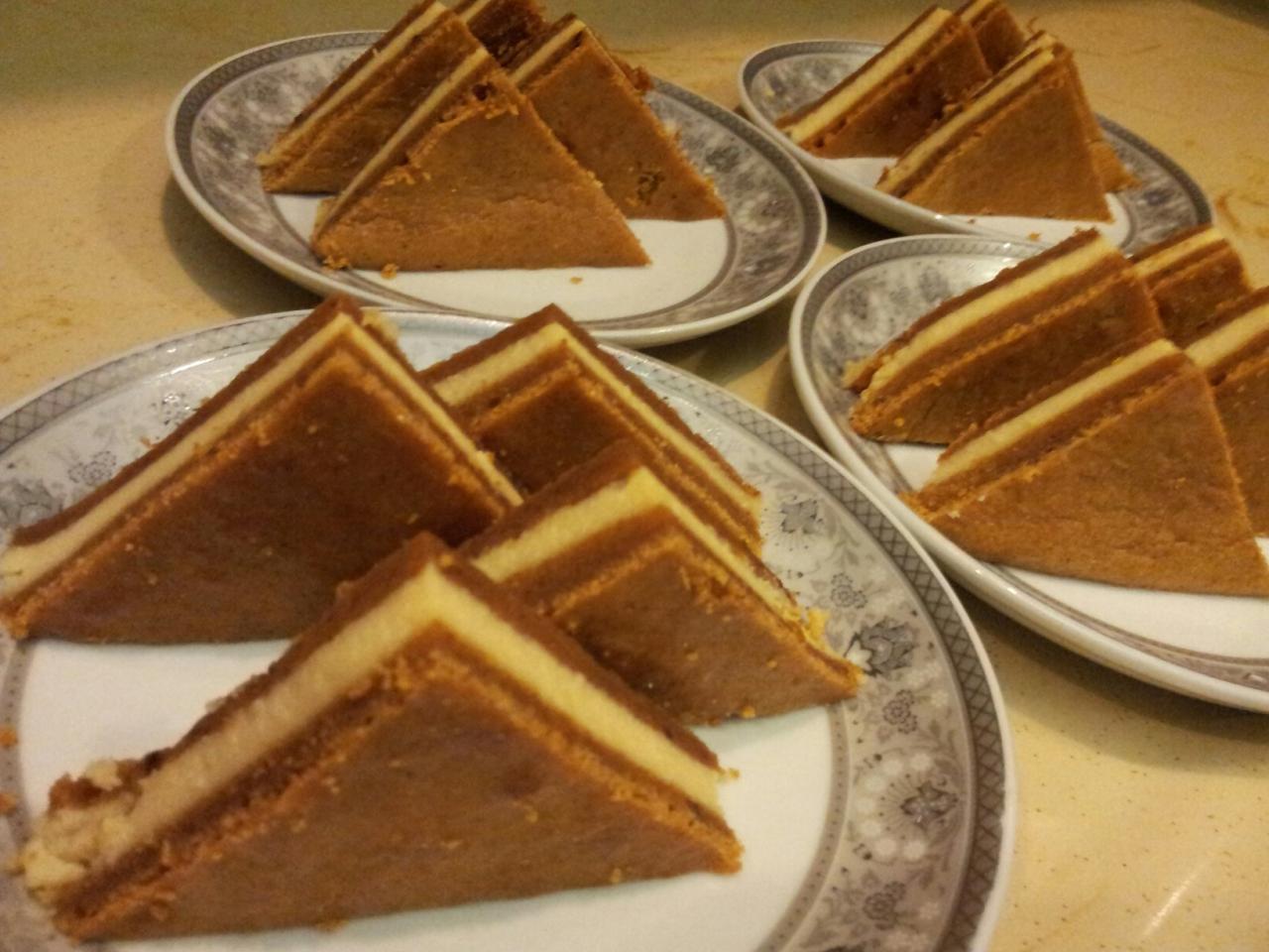 صورة حلى مثلثات التوفي , جهزى لهم فى دقائق اجمل حلوى