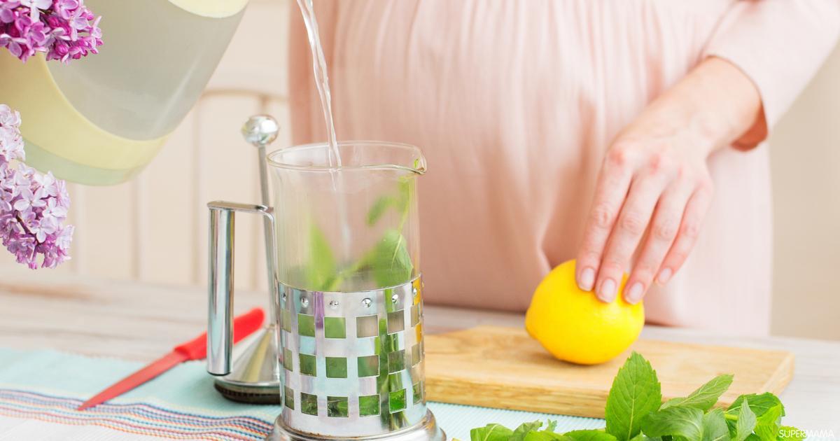صورة طريقة علاج التهاب الحلق , مشروبات سحريه لازله المه