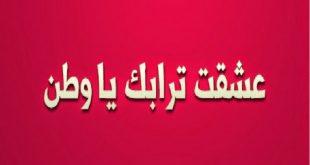 صورة كثر الكلام عن الوطن لكن ملقتش احلى من الكلمات دى , كلمات في حب الوطن