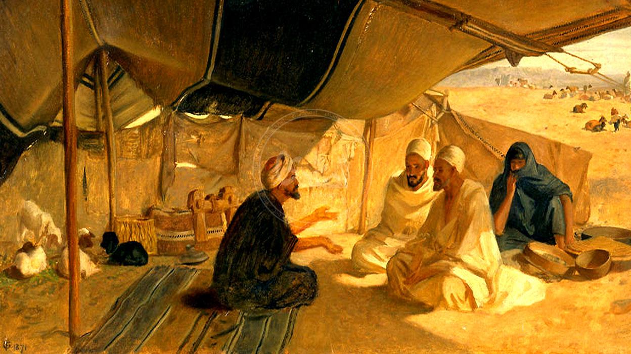 صورة اجمل ما قرئته عن العصر الجاهلى , بحث عن العصر الجاهلي